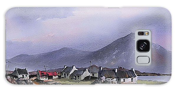 Cottage Galaxy Case - The Diamond Hill Lettrfrack Galway by Val Byrne