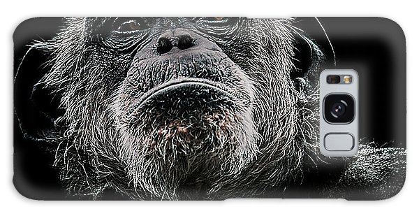 Chimpanzee Galaxy S8 Case - The Dictator by Paul Neville