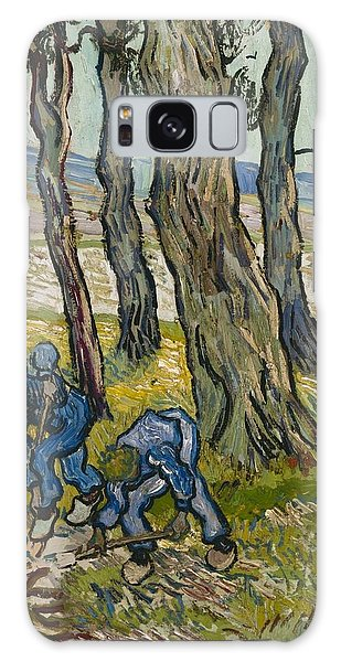 Art Institute Galaxy Case - The Diggers by Vincent van Gogh