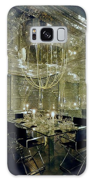 The Dining Room Of Ara Gallant's Apartment Galaxy Case