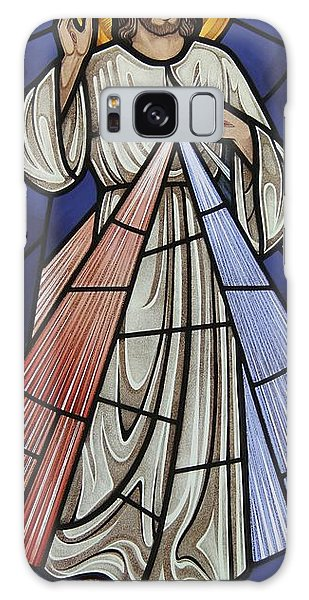 The Divine Mercy Galaxy Case by Gilroy Stained Glass