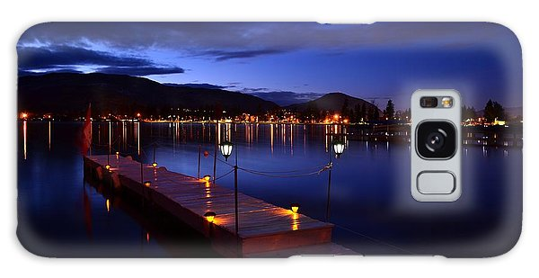 The Dock At Night- Skaha Lake 02-21-2014 Galaxy Case