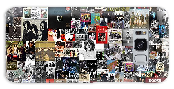 The Doors Collage Galaxy Case