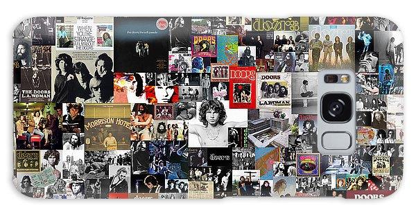 Galaxy Case - The Doors Collage by Zapista Zapista