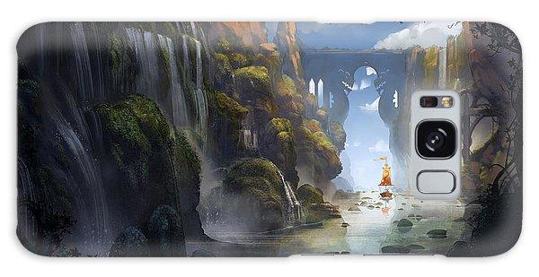 Dragon Galaxy S8 Case - The Dragon Land by Kristina Vardazaryan