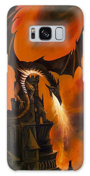 The Dragon's Tower Galaxy Case