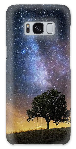 Milky Way Galaxy Case - The Dreamer's Seat by Luk???? Ild??a