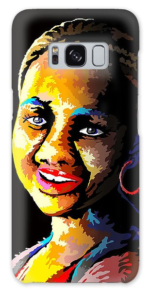 Mama Africa Galaxy Case - The Dripping Lady by Anthony Mwangi