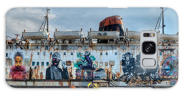 The Duke Of Graffiti Galaxy Case by Adrian Evans