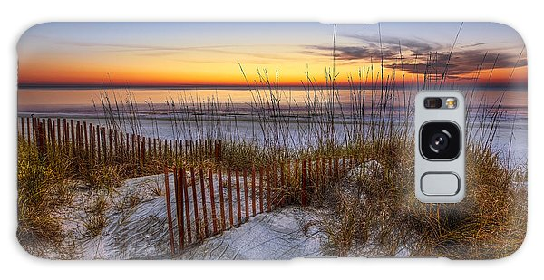 The Dunes At Sunset Galaxy Case