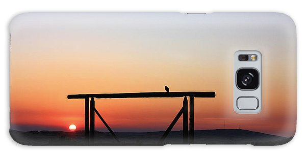 The Early Bird At Sunrise Galaxy Case