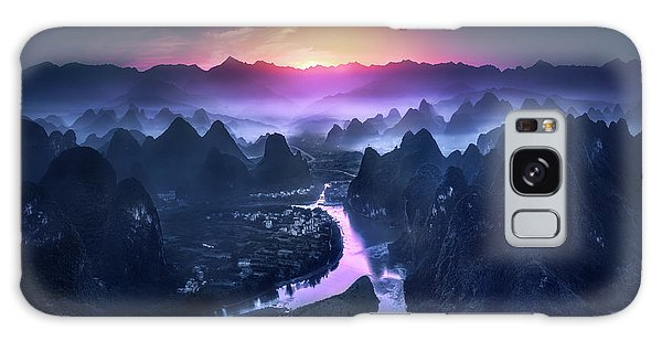 Layers Galaxy Case - The Earth Awakening by Jes??s M. Garc??a