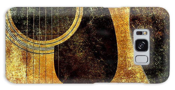 The Edgy Abstract Guitar Square Galaxy Case