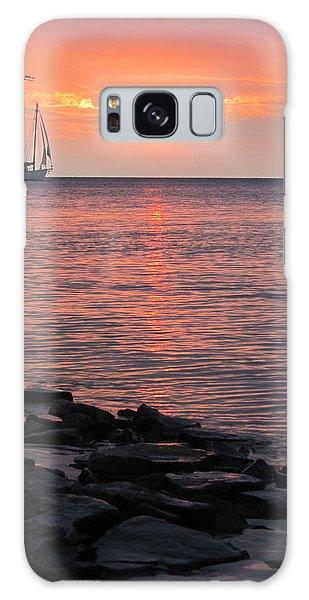 The Edith Becker Sunset Cruise Galaxy Case