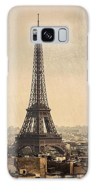The Eiffel Tower In Paris France Galaxy Case