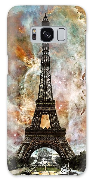 The Eiffel Tower - Paris France Art By Sharon Cummings Galaxy Case by Sharon Cummings