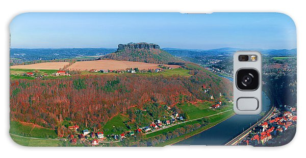 The Elbe Around The Lilienstein Galaxy Case