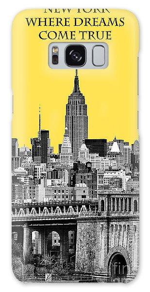 The Empire Galaxy Case - The Empire State Building Pantone Yellow by John Farnan