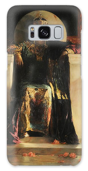 The Empress Theodora Galaxy Case by Jean-Joseph Benjamin-Constant
