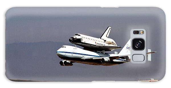 The Endeavor And Her 747 Final Landing At Lax Galaxy Case