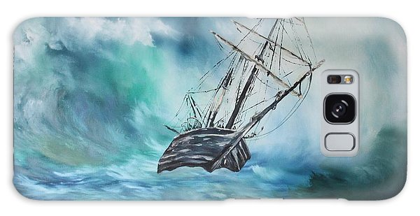 The Endurance At Sea Galaxy Case by Jean Walker