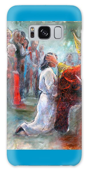 The Episcopal Ordination Of Sierra Wilkinson Galaxy Case by Gertrude Palmer