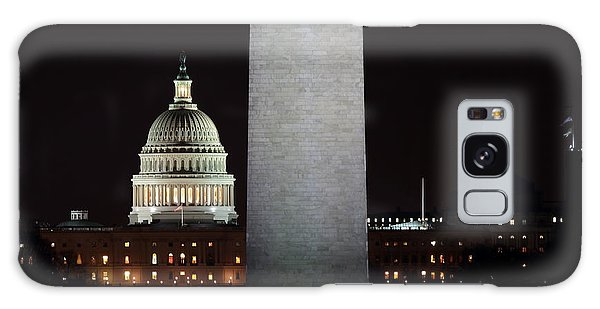 The Essence Of Washington At Night Galaxy Case