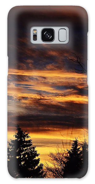 The Evening Sky Galaxy Case by Nikki McInnes