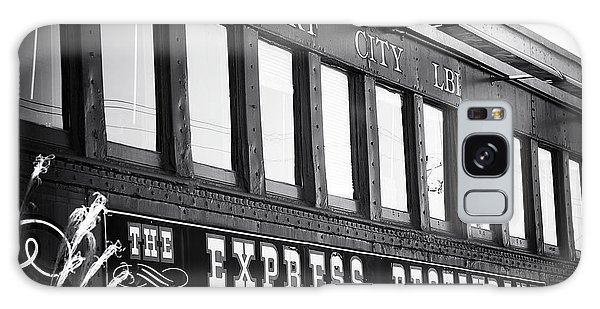 The Express Restaurant Black And White Galaxy Case