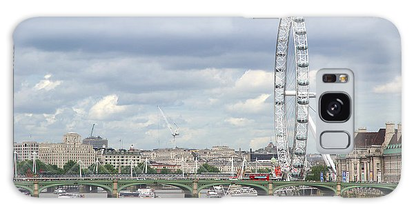 The Eye Of London Galaxy Case by Keith Armstrong