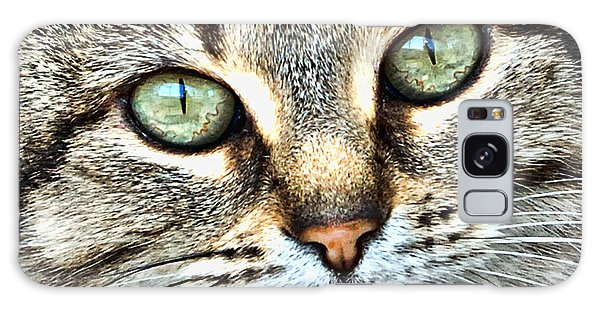 The Eyes Have It Galaxy Case by Kenny Francis