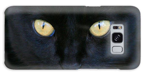 The Eyes Have It Galaxy Case by Mariarosa Rockefeller