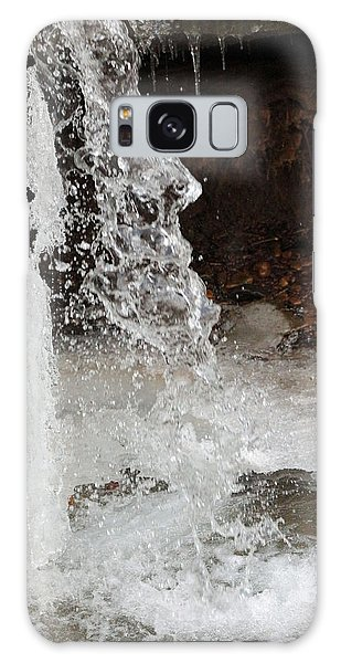 The Face Of Winter Galaxy Case by Lorna Rogers Photography