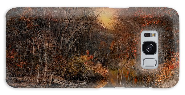 The Fading Glow Of Fall Galaxy Case