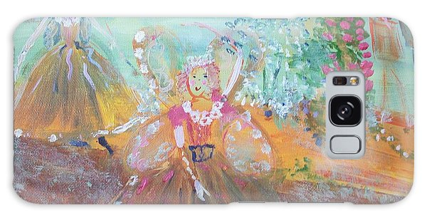 The Fairies And The Artist Galaxy Case by Judith Desrosiers