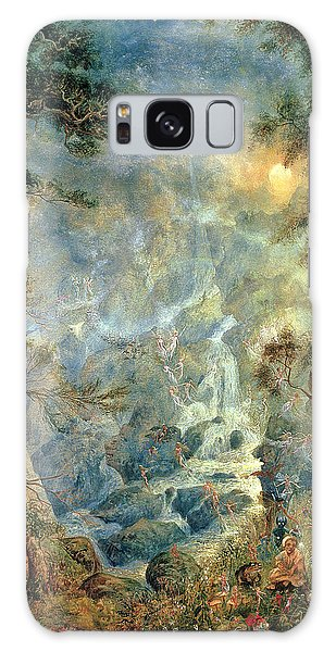 Waterfall Galaxy Case - The Fairy Falls, 1908 by Hume Nisbet