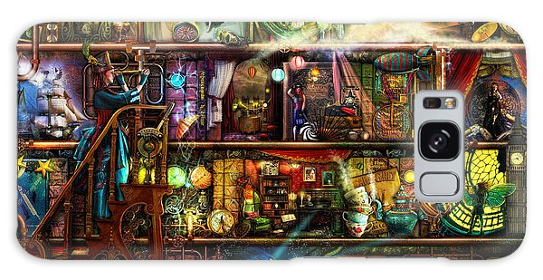 Shelves Galaxy Case - The Fantastic Voyage by MGL Meiklejohn Graphics Licensing