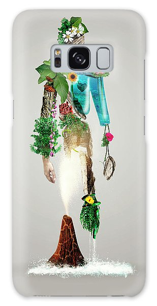 Figures Galaxy Case - The Fantasy Nature Man by Wanda D\'onofrio