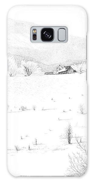 The Farm Galaxy Case by Carl Genovese