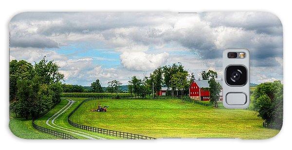 The Farm Galaxy Case by Ronda Ryan