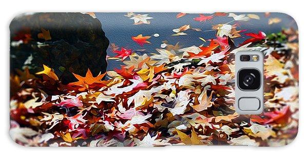The Feeling Of Autumn Galaxy Case