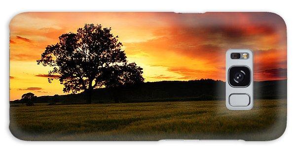 Countryside Galaxy Case - the Fire on the Sky by Angel Ciesniarska
