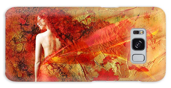 The Fire Within Galaxy Case by Jacky Gerritsen