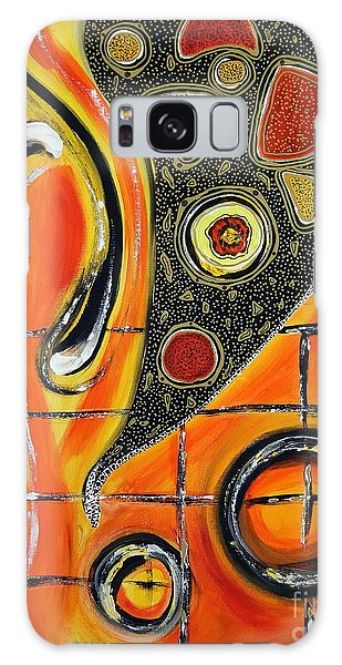 The Fires Of Charged Emotions Galaxy Case