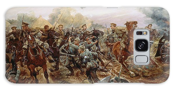 Assault Galaxy Case - The First Vc Of The European War, 1914 by Richard Caton II Woodville