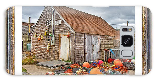 Framing Galaxy Case - The Fishing Village Scene by Betsy Knapp