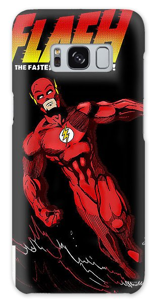 The Avengers Galaxy Case - The Flash by Mark Rogan