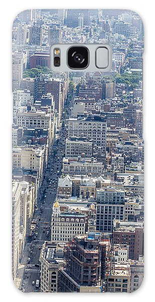 The Flatiron Building Galaxy Case