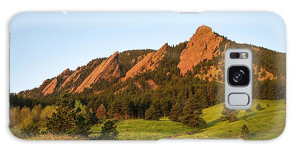 The Flatirons - Spring Galaxy Case by Aaron Spong