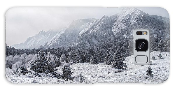 Co Galaxy S8 Case - The Flatirons - Winter by Aaron Spong